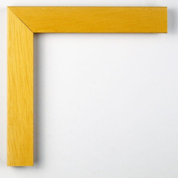 Κορνίζα χρώματος ξύλου απλή