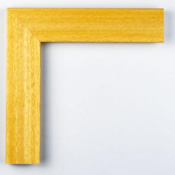 Κορνίζα ξύλου ανοιχτόχρωμη