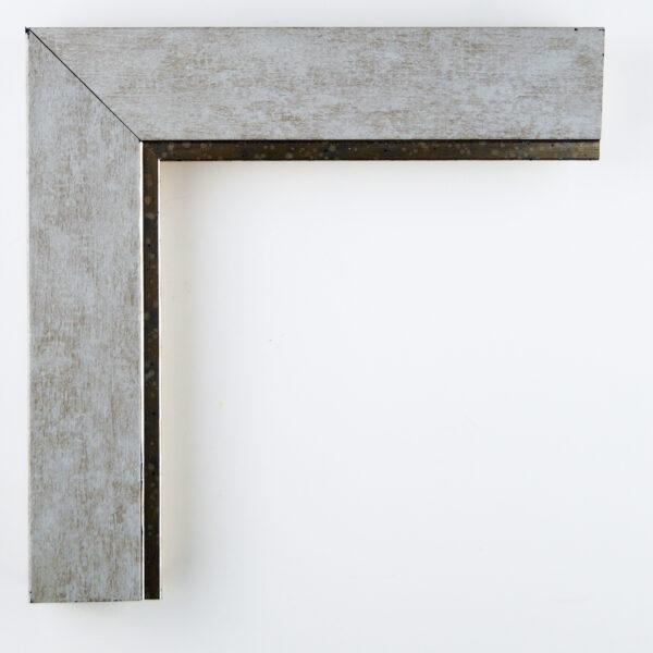 Κορνίζα τοίχου ασημί ανοιχτόχρωμη