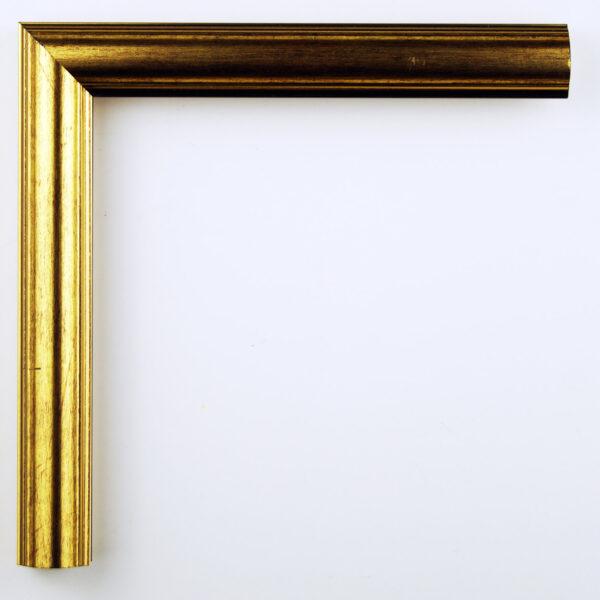Κορνίζα τοίχου μεταλλική χρυσή